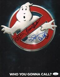 Bill Murray +3 Authentic Hand-signed Ghostbusters 11x14 Photo Jsa Coa