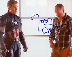 Joss Whedon Authentic Hand-signed Avengers - Captain America 8x10 Photo