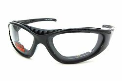 N7304 Tr90 Motorcycle Glasses With Transitional Photochromic Clear To Gray Lens