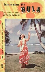 1955 Vintage Book Learn To Dance The Hula