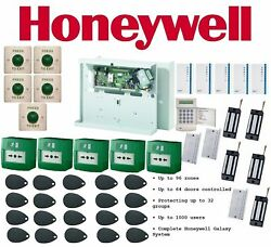 Honeywell Galaxy Dimension 96 Complete Security System Fire Safety Entry Point