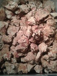 RED and White Mississippi Soil Clay - Clean -Fresh- 10 lb Bag Chunks Dry