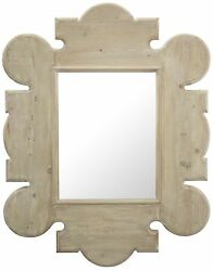 64 T Gothic Wall Mirror Hand Crafted Reclaimed Douglas Fir Wood Frame