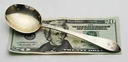 Antique Vintage Signed Queen Anne Sterling Silver Soup Spoon 6 3/4