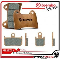 Brembo Racing 107A48672 - Z03 Compound Brake Pads for Calipers Yamaha R1 2007