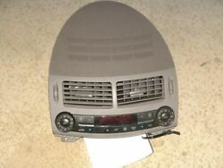 05 MERCEDES E500 TEMPERATURE CLIMATE AC HEATER CONTROL WITH VENT HOUSING GREY