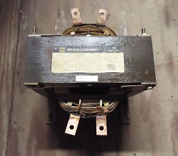 1 Used Square D 5s1hf0c 5 Kva Single Phase Insulated Transformer