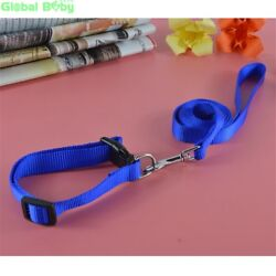 GlobalBaby® 30PcsLot Nylon Dog Pet Breakaway Collar And Leashes Set 3 Colors