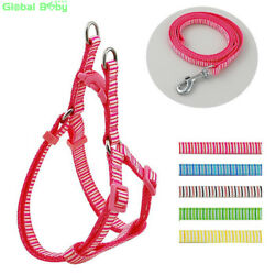 GlobalBaby®30PcsLot Fashion Striped Vertical Lines Styles Dog Pet Nylon Harness