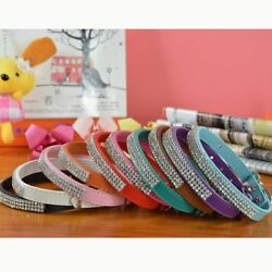 GlobalBaby® 50PcsLot Mixed 10 Colors Pu Leather Collar Pet Dog Products