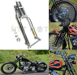 22 Stock Chrome Glide Springer Front End W/ Axle Kit For Harley Chopper Arch