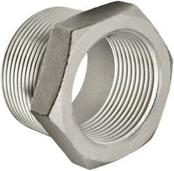 2 M X 3/4 F 316 Stainless Steel Pipe Bushing 10 Pieces