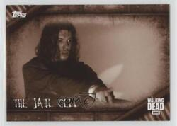 2017 Topps Walking Dead Season 6 Locations Sepia 4/10 The Jail Cell L-5 0ad