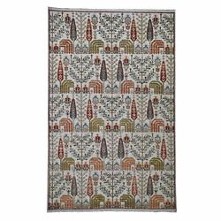 6and039x9and0394 Texture Hi-lo Pile Peshawar Willow And Cypress Tree Design Rug R43681