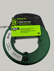 Greenlee Steel Fish Tape 65ft New Made In U.s.a 438-5