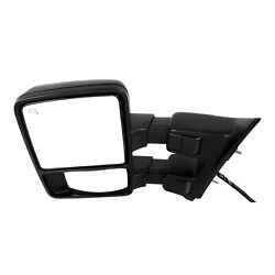 Tow Mirror For 2008 2009 Ford F250 Super Duty Left Side Power Heated Blind Spot