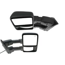 Tow Mirror Set For 2010 Ford F250 Super Duty Left & Right Power Heated Signal