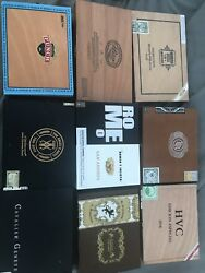 9 Cigar Boxes In This Lot