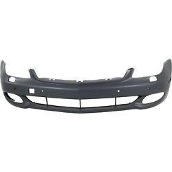 Front Bumper Cover For 2007-2011 Mercedes Benz Cls550 W/ Parktronic Holes Primed