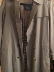 The Long Chelsea Heritage Trench Coat Xl 10 Good Condition Sold As Is