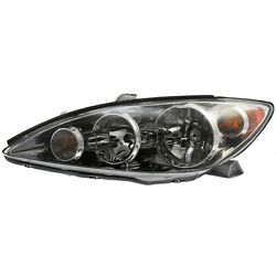 Headlight Headlamp W/ Chrome Trim Driver Side Left Lh For 05-06 Camry Le And Xle