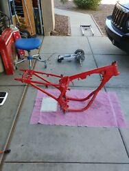 1986 Honda 200x Atc Frame With Paperwork (contact for shipping price)