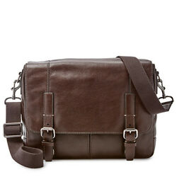 Fossil Bennett EW City Dark Brown Bag MBG9226201