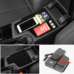 Cell Phone Wireless Car Charger Storage Holder Content Box For Bmw 3 F30 F31 F32