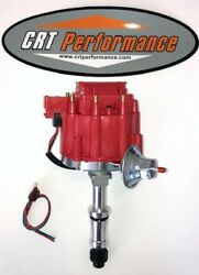 225 231 Buick Odd Fire Dauntless V6 Hei Distributor Red - Drop In Ready - 1 Wire