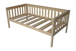 Versaloft Amish-made Yellow Pine Full Mission Daybeds By Aandl Furniture Company