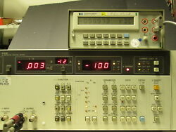 Hp4140b Pa Meter Dc Voltage Source Tested +/-100vdc Gpib Interface