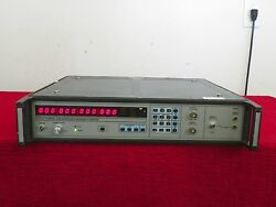 Eip 548b Microwave Frequency Counter 10hz-26.5ghz W/opt 05,06,08 Nist Cal'ed