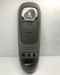 2000 FORD EXPEDITION OVERHEAD CONSOLE COMPASS MAP LIGHT CLIMATE CONTROL OEM