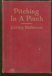Pitching In A Pinch-christy Mathewson-1912-putnam-19 Photo Illustrations-vg/fn