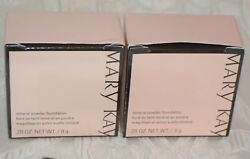 2 Mary Kay Mineral Powder Foundation IVORY 0.5 Set of TWO New in Box