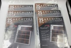 Print File 120-4b Negative Preservers 25 Per Pack New Old Stock 7 Packages 175