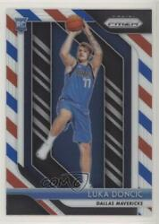 2018-19 Panini Prizm Red White And Blue Luka Doncic 280 Rookie