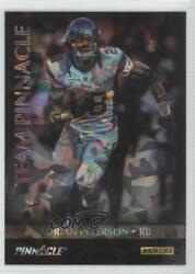2013 Fatherand039s Day Team Pinnacle Cracked Ice Adrian Peterson Calvin Johnson Jr 5