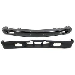 New Kit Bumper Face Bar Front For Chevy S10 Pickup Gm1006183 Gm1092166