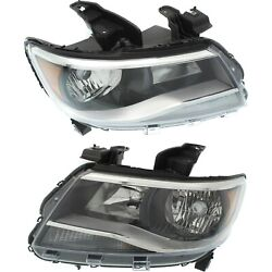 Headlight For 2015-2019 Chevrolet Colorado Pair Driver And Passenger Side Capa
