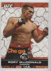 2013 Topps Ufc Bloodlines Flag /188 Rory Macdonald 142