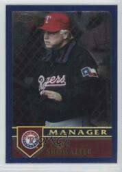 2003 Topps Chrome Traded And Rookies Buck Showalter T118