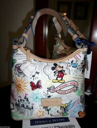 RARE FIND! Disney SKETCH LUCY BAG by DOONEY & BOURKE Near Perfect Design *NWT