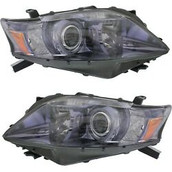 Headlight Set For 2010 2011 2012 Lexus Rx450h Japan Built Left And Right 2pc