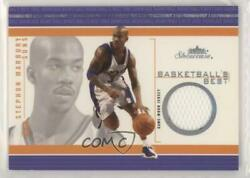 2003 Fleer Showcase Basketballand039s Best Non-numbered Stephon Marbury Bb-sm Patch