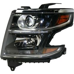 New Hid Headlight Driving Head Light Headlamp Driver Left Side For Chevy Lh Hand