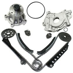 Timing Chain Kit For 2004-15 Ford E-350 Super Duty With Water Pump And Oil Pump