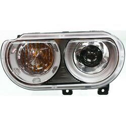 Hid Xenon Headlight Driver Side Left For 2008-2014 Dodge Challenger