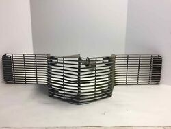 1970 Ford Thunderbird Grille W/o Sport Model Lamps 2dr Damaged