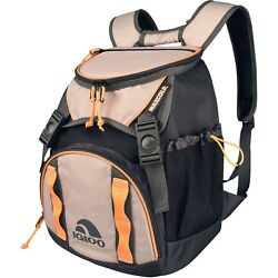 Tan Black Backpack Cooler For Hunting Travel Outdoors